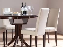 white leather dining room chairs home design ideas and pictures