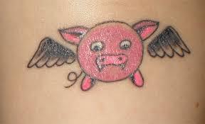 my vampire pig tattoo by aestheticsaturn on deviantart