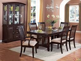 china cabinet dining room table with china cabinet delightful