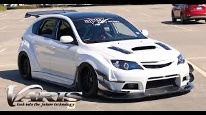 subaru rsti widebody varis widebody subaru wrx review youtube