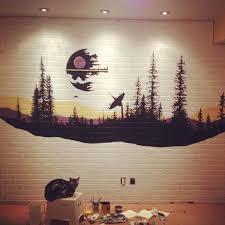 Star Wars Bedroom Paint Ideas Best 25 Star Wars Wall Art Ideas On Pinterest Star Wars Bedroom