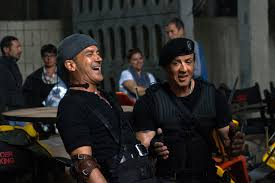 the expendables 3 set visit expendables 3 stars sylvester