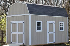Gambrel Garage by Gallery Mightier Shed