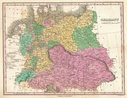 Map Og Germany by File 1827 Finley Map Of Germany Geographicus Germany Finley