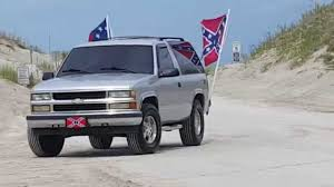 Truck With Rebel Flag Huguenot Park Confederate Flag Rally Jacksonville Florida