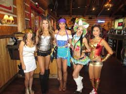Halloween Hooters Costume El Paso Twin Peaks Girls Dress Halloween