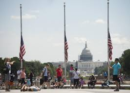 Flag Flown Over White House Obama Has Ordered Flags To Half Staff More Than Any Other