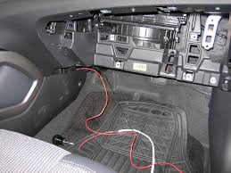 how to install leds under dash