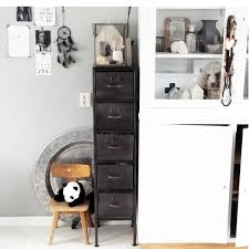 cabinet meta with drawers woood nordic decoration home