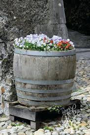 best 25 wine barrel garden ideas on pinterest wine barrel planter