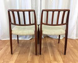 set of six niels m ller model 83 rosewood dining chairs for j l niels m ller model 83 rosewood dining chairs