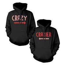 and crazier bff matching best hoodies front