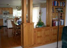 kitchen divider ideas room divider ideas with wooden divider and leaving room also