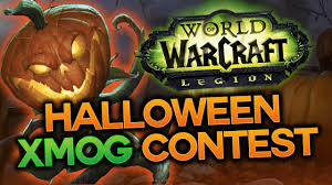 halloween photo contests 2016 halloween transmog contest world of warcraft legion youtube