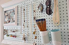 Cool Pegboard Ideas Peg Board And Accessories Station The 36th Avenue