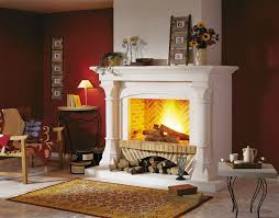fireplace candle binhminh decoration