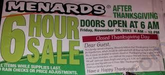 menards black friday deals and ad 2013