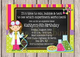 40 best invitations images on pinterest dream jar mad science