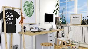 Wall Mounted Desk Ikea by Mxims U201c U2022 Ikea Alex Linnmon Desk U2022 Ikea Marius Stool U2022 Bilbao