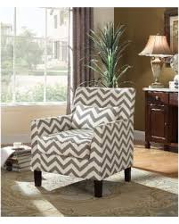Gray And White Accent Chair Sale Best Master Furniture Grey And White Fabric Accent