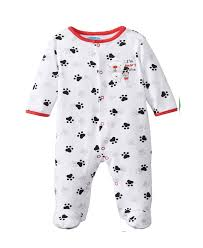 white bon bebe baby boys newborn i m beary footed snap baby
