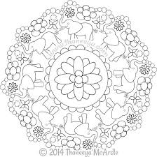 awesome design ideas nature mandala coloring pages coloring