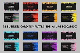 Business Card Template Jpg Business Cards Design Bundles