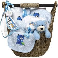 boy welcome home baby large gift set raindrops baby
