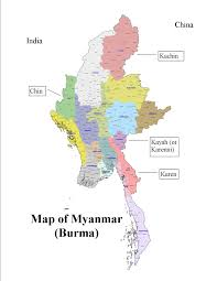 Map Burma Maps Of Burma Johnmcmurphy U0027s Weblog