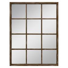 threshold wall mirror brown for the home pinterest house