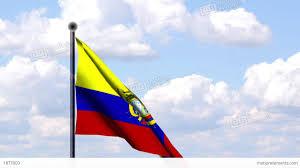 Gambia Flag Animated Flag Of Ecuador Animierte Flagge Von Ec Stock Animation