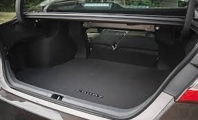 toyota camry trunk 2018 toyota camry cargo space and storage review car and driver