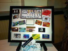 gift card display silentauctionideas silent auction a different way to display gift