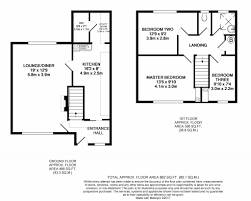 Qmc Floor Plan by 3 Bed Town House For Sale In Hanley Avenue Bramcote Nottingham