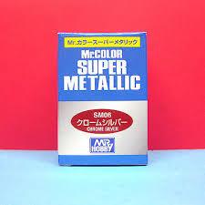 mr color 18ml super metallic super fine silver sm 01 6 00