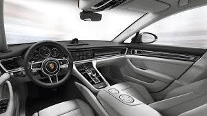 porsche panamera turbo interior 2017 porsche panamera bows with sportier sleeker styling