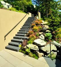 Outdoor Fairy Garden Ideas by Bathroom Captivating Outdoor Stair Railing Landscape