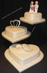 heart wedding cakes barker bakes