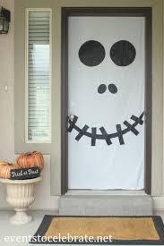 Halloween Classroom Door Decorating Ideas by Diy Halloween Garage Door Decorations