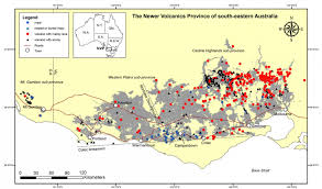 Mexico Volcano Map by Volcanic History Is A Lot More Recent Than You Think