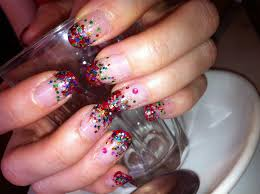 nail art designs with rhinestones nails designs 2013 colorful