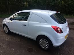 vauxhall white vauxhall corsa van 1 3 cdti ecoflex for sale in wigan just vans ltd