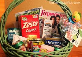 chagne gift basket pregnancy survival kit to be gift basket the six fix