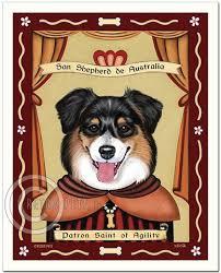 australian shepherd tri australian shepherd u2013 retro pets art