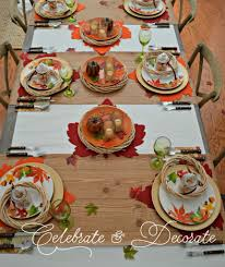set a thanksgiving table from the dollar store celebrate decorate