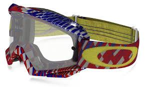 motocross goggle amazon com oakley proven mx goggles frame clear lens matte