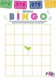 fiesta theme bingo card