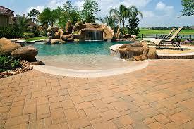 brick paver pool decks enhance pavers brick paver installation