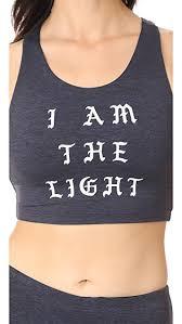 I Am Light Spiritual Gangster I Am The Light Crop Tank Shopbop