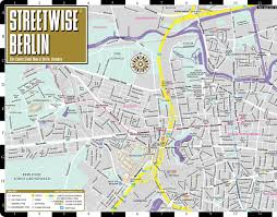 lbl map streetwise berlin map laminated city center map of berlin
